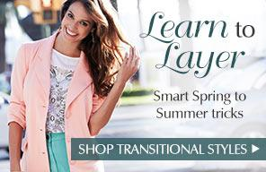 Learn to Layer - Smart Spring to Summer tricks