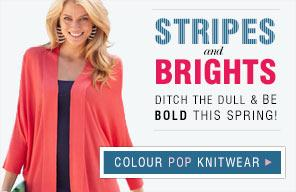 Stripes and Brights - Ditch the dull and be bold this Spring!