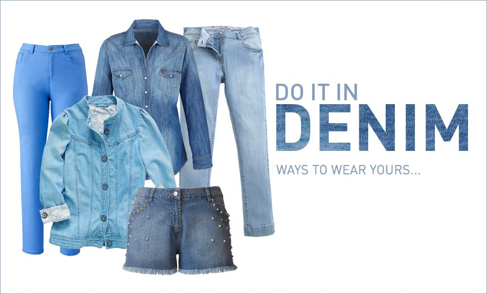 Do It In Denim - Ways to wear yours &gt;