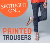 Spotlight On... Printed Trousers