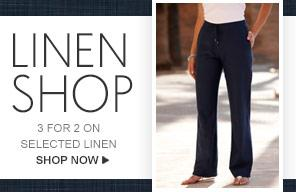 Linen shop - shop now >