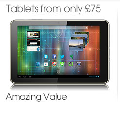 Tablets from only £75