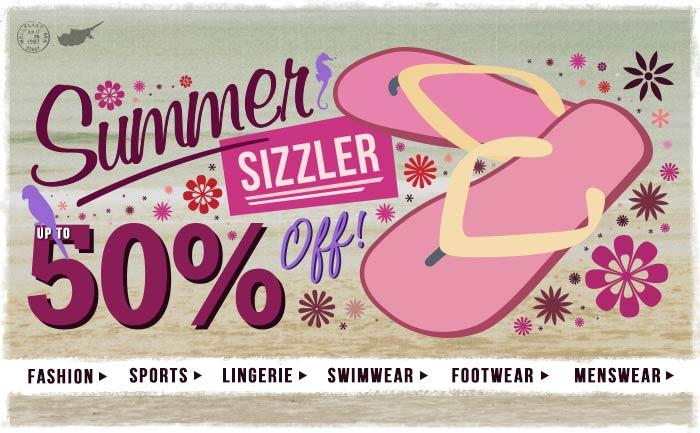 Summer Sizzler - 50% Off!