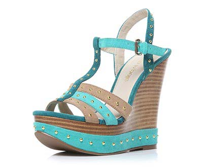 Green Wedge Shoe