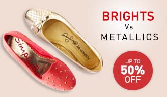 brights v metallics - up to 50% off