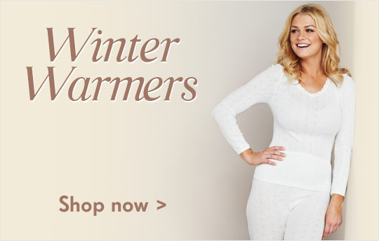 Winter Warmers - Shop now >