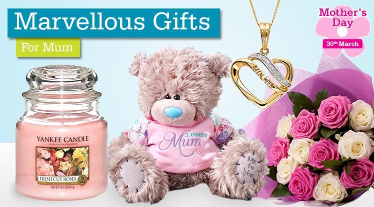Marvellous Gifts For Mum