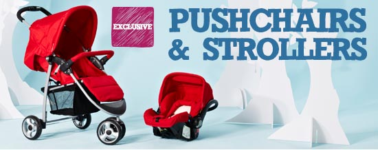 Pushchairs & Strollers >