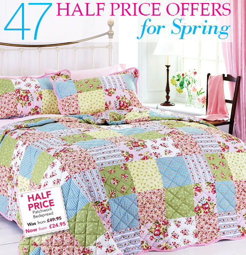 47 Half Price Offers for Spring