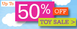 Up to 50% Off Toy Sale