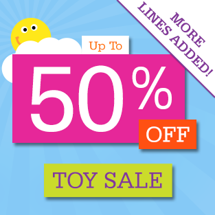 50% Off Toy Sale