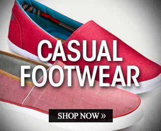 Casual Footwear – Shop Now >