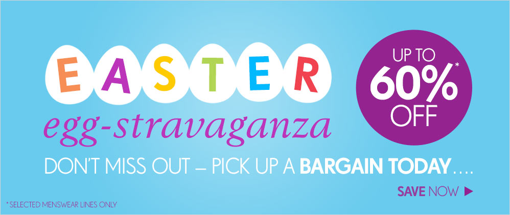 Easter Egg-stravaganza - Up To 60% Off >