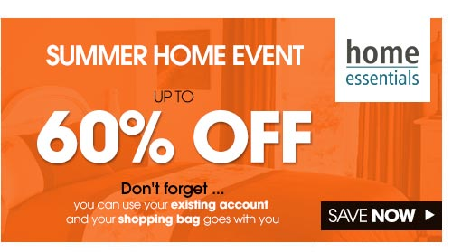 Summer Home Event. Up to 60% off >
