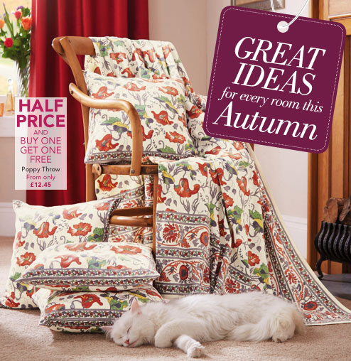 Great ideas for every room this Autumn