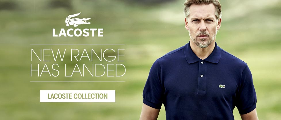 Lacoste - New range has landed