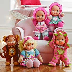 Baby's First Giggles & Kisses Dolls