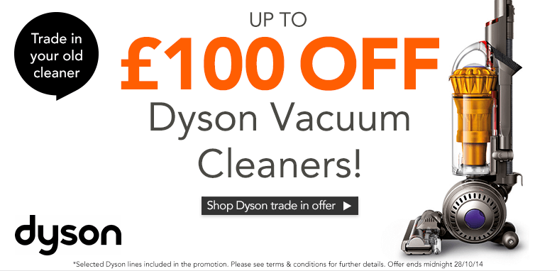 Shop Dyson trade in offer