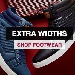 Extra Widths - Shop Footwear »
