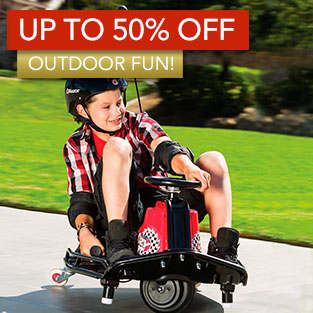 Up to 50% Off Outdoor Fun