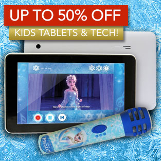 Up to 50% Off Kids Tablets & Tech