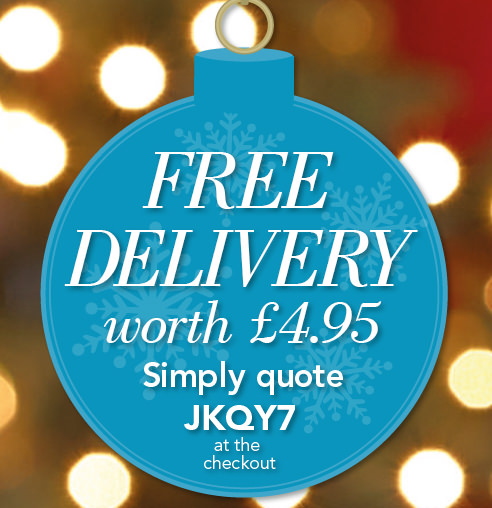 Free Delivery worth £4.95 >