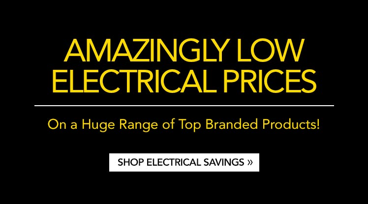 Amazingly Low Electrical Prices