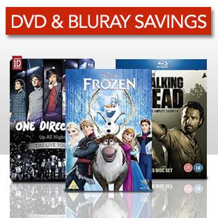 DVD & Bluray Savings