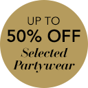 50% off selected Partywear >