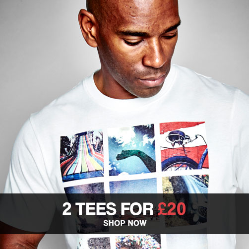 2 Tees for £20 – Shop Now »