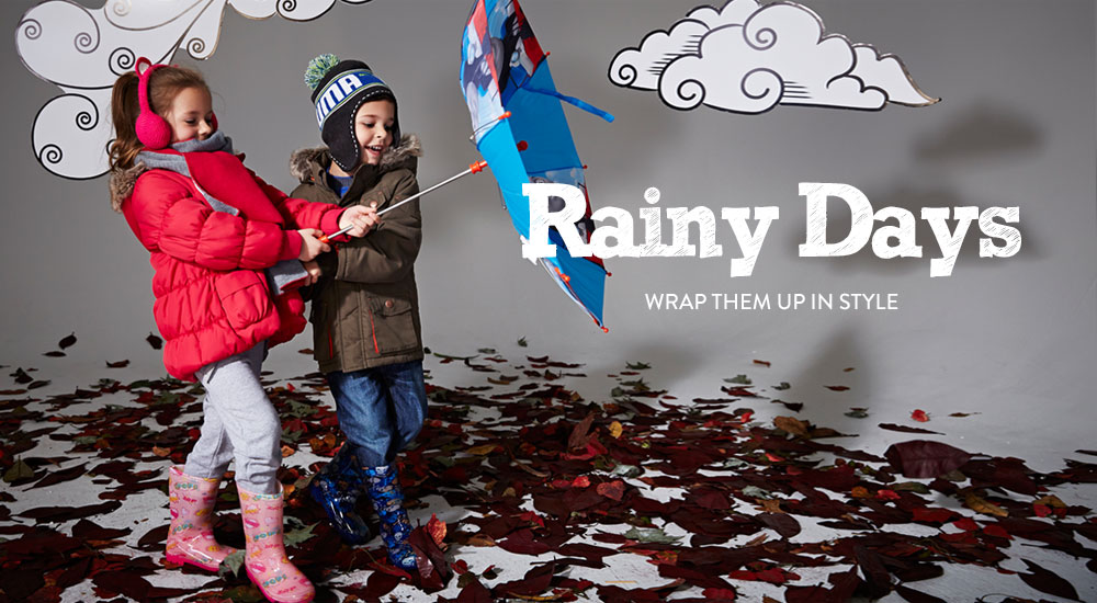 Rainy Days - Wrap Them Up in Style