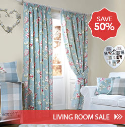 Save 50%. Living Room Sale >