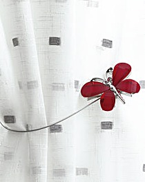 Magnetic Tie-Backs Butterfly