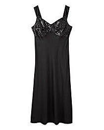 Joanna Hope Sequined Satin Nightdress