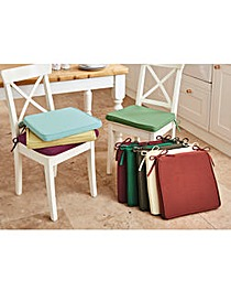 Tapered Chenille Seat Pad 2 Pack