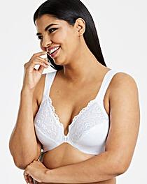 Glamorise Elegance White Bra