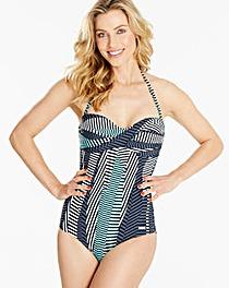 Sunseeker Twist Bandeau Swimsuit