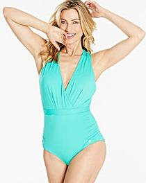 Sunseeker Cross Front Plunge Swimsuit