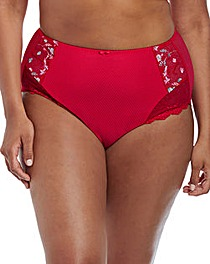 Elomi Charley Red Full Briefs