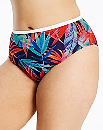 Elomi Paradise Palm Ink Bikini Brief