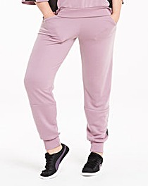 Pink Clove Mesh Insert Sweat Pants