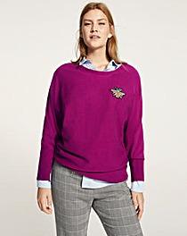 Shop Now · Violeta by Mango Bee Badge Knit daab43206