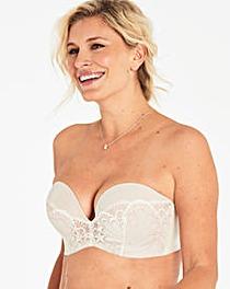 Wonderbra Glamour Lace Ivory Strapless