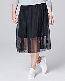 Simply Be Mesh Skirt