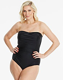 Magisculpt Black Bandeau Swimsuit