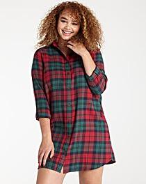 Pretty Secrets Flannel Nightshirt