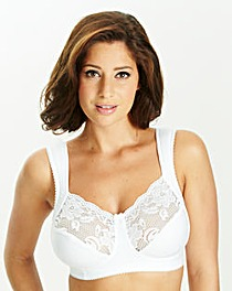 Miss Mary Lovely Lace White Bra
