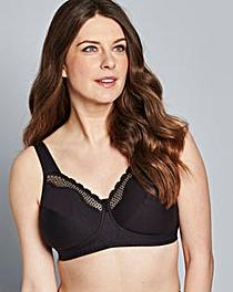 fcc61dfc22 Shop Now · Bestform Cotton Comfort Black Bra