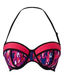 Simply Yours Underwired Ikat Bikini Top