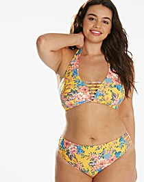 Simply Yours Floral Halterneck Bikini